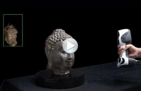 iReal 2E彩色三维扫描仪宣传视频