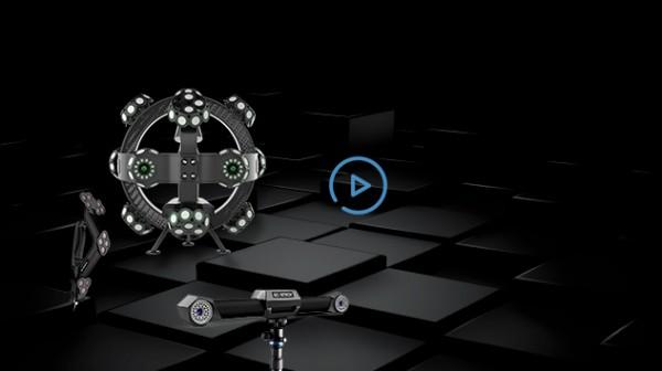 TrackScan-P22跟踪式三维扫描系统