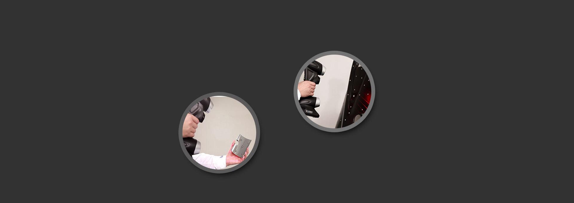 PRINCE手持式三维扫描仪