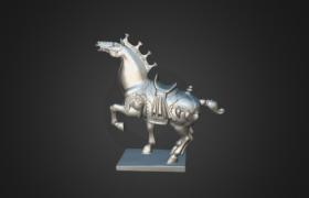 奔马模型扫描