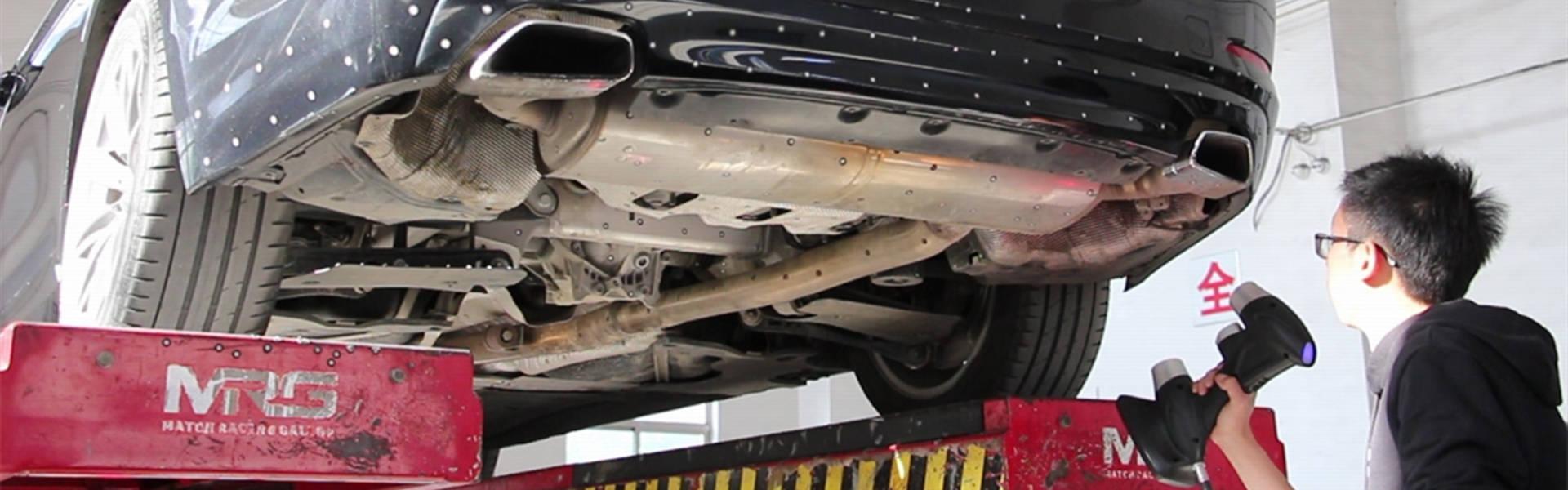 3D扫描仪突破汽车排气系统改装传统工艺