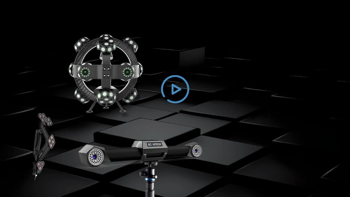 TrackScan-P42跟踪式三维扫描系统